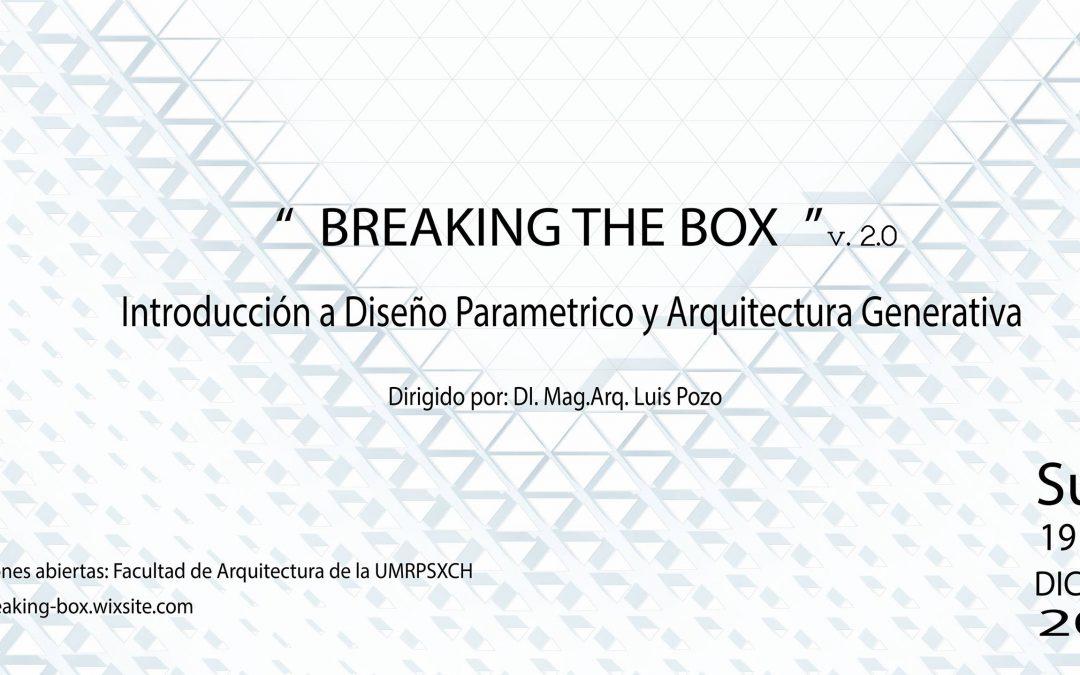 INTRODUCCIÓN AL DISEÑO PARAMÉTRICO Y ARQUITECTURA GENERATIVA